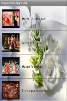 Screenshot of Punjabi Wedding Songs