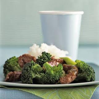 Sesame Beef and Broccoli.