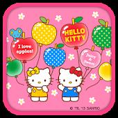 Hello Kitty FruitBalloon Theme