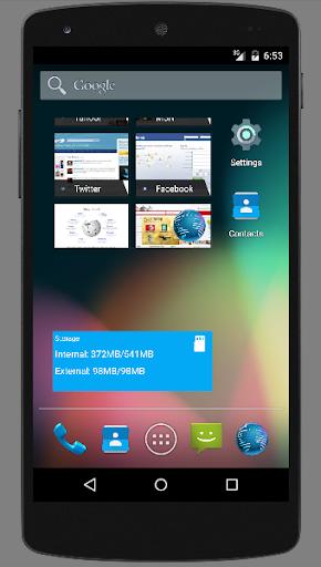 【免費工具App】Free Memory Widget-APP點子