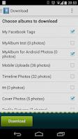 Screenshot of MyAlbum: Social photos manager