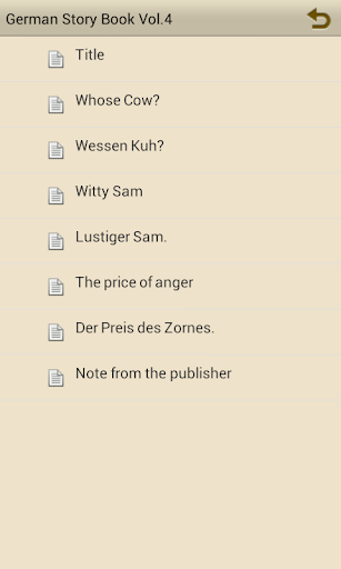 Learn German by Story Book V4