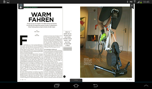 TOUR - Das Rennrad Magazin- screenshot thumbnail
