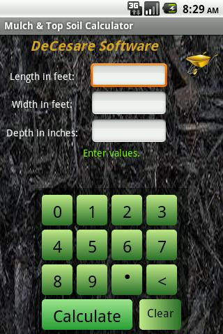 Mulch Calculator