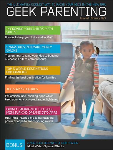 Geek Parenting Magazine Wired