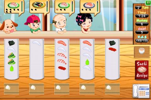 Sushi Dash Lite- screenshot