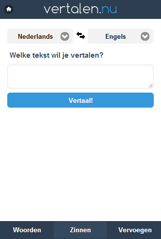 Vertalen.nu- screenshot