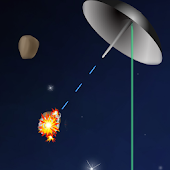 LASER SHIELD asteroids defense