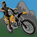 Motocross Bike: 3D Mountains icon