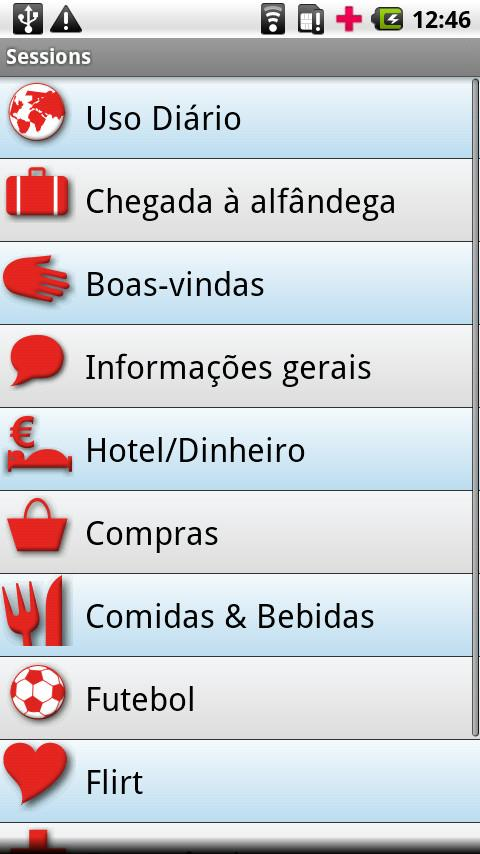 iSayHello Portuguese  - Polish- screenshot