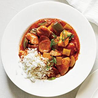 Chicken and Sausage Stew.