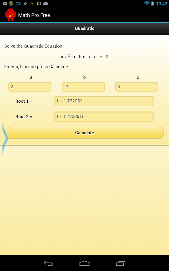 Math Pro Free - screenshot