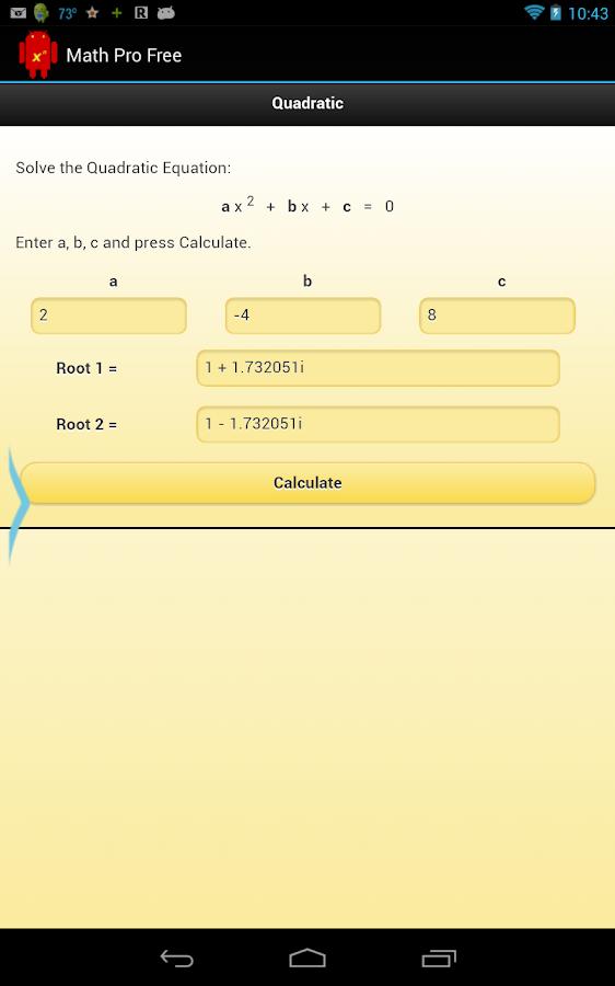 Math Pro Free - screenshot