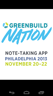 Note Taking: Greenbuild 2013 - screenshot thumbnail