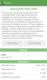 ACM Digital Library- screenshot thumbnail