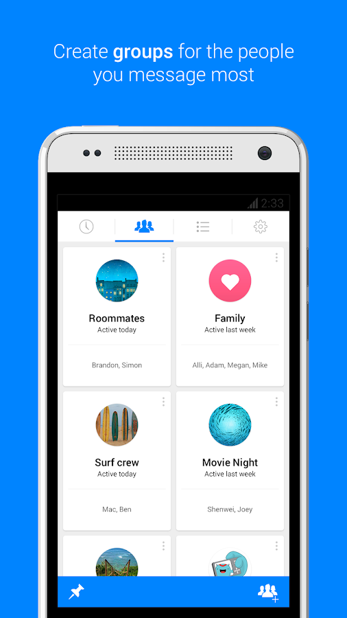 Messenger – Screenshot