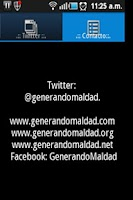 Screenshot of Generando Maldad