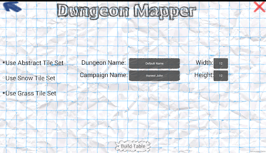 Dungeon Mapper- screenshot thumbnail