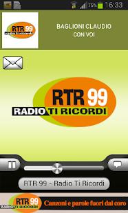 RTR 99 – Radio Ti Ricordi - screenshot thumbnail