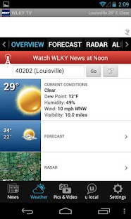 WLKY  Louisville News, Weather - screenshot thumbnail