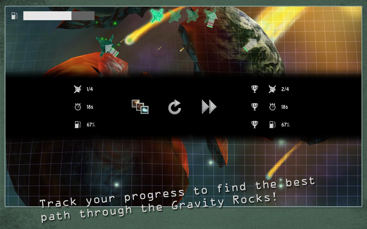 Gravity Rocks - screenshot
