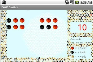 Screenshot of Fruit Blaster