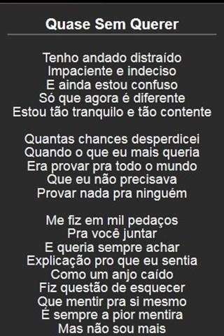 【免費娛樂App】Legião Urbana Letras-APP點子