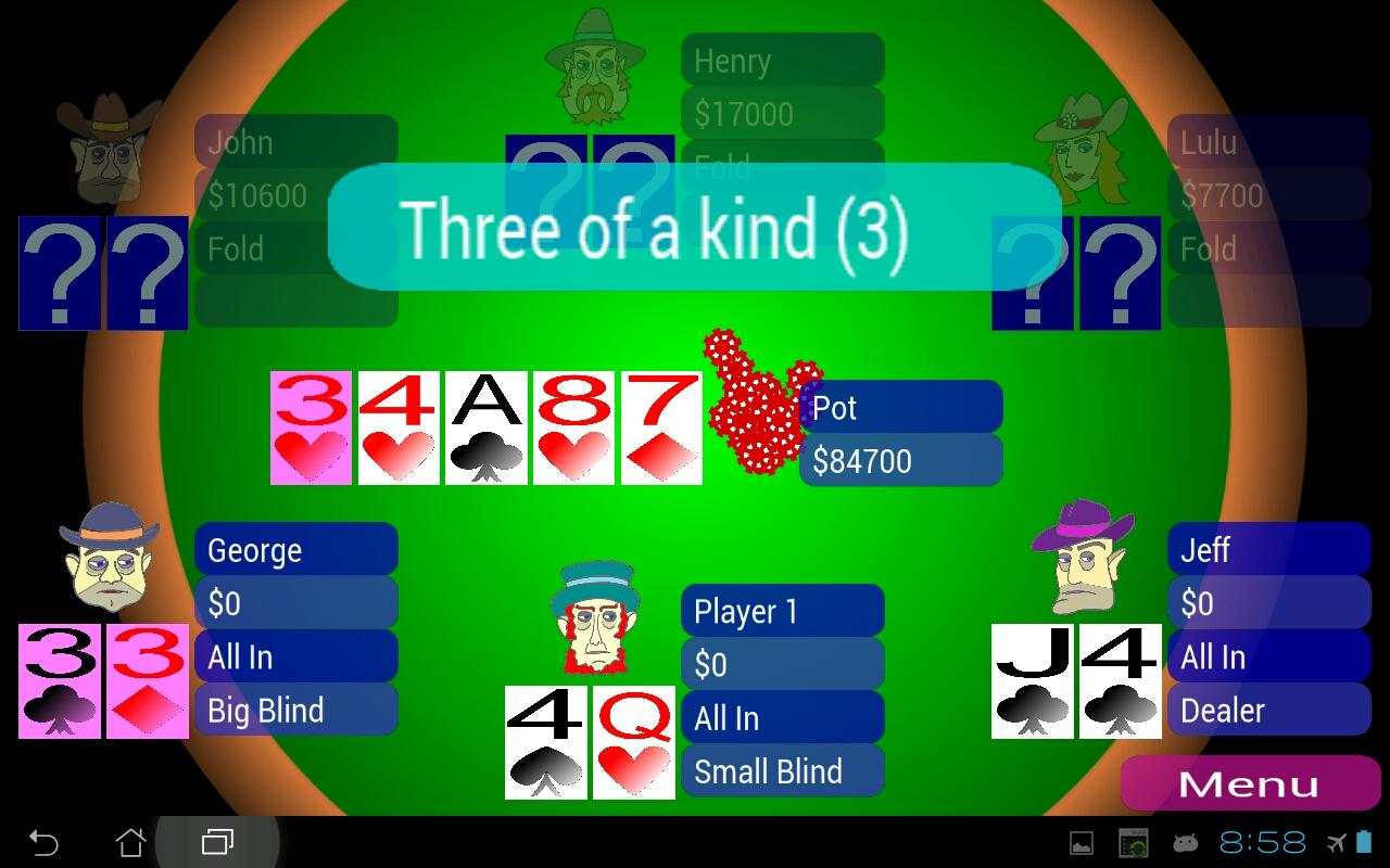 Offline Poker Texas Holdem- screenshot