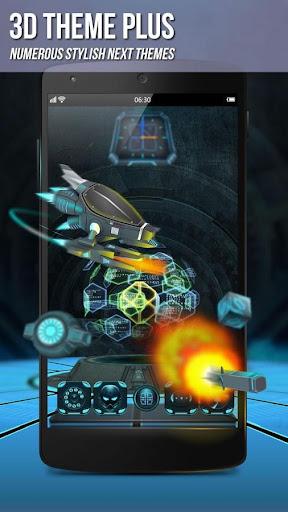 Next Launcher 3D Shell Lite  screenshots 3