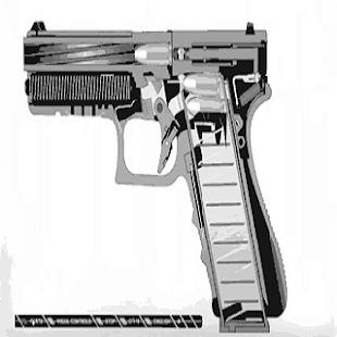 Pistole Live Wallpaper free
