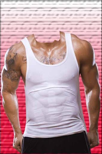 Sixpack Bodybuilder Men Suit