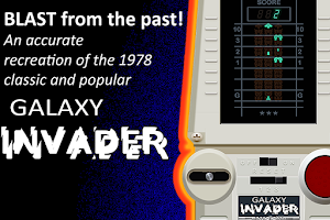 Screenshot of Galaxy Invader Original 1978