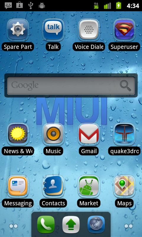 MIUI Complete Theme - screenshot