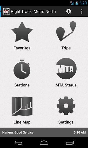 Right Track: Metro North SLE