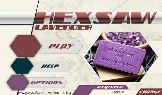 HexSaw - Lavender- screenshot thumbnail
