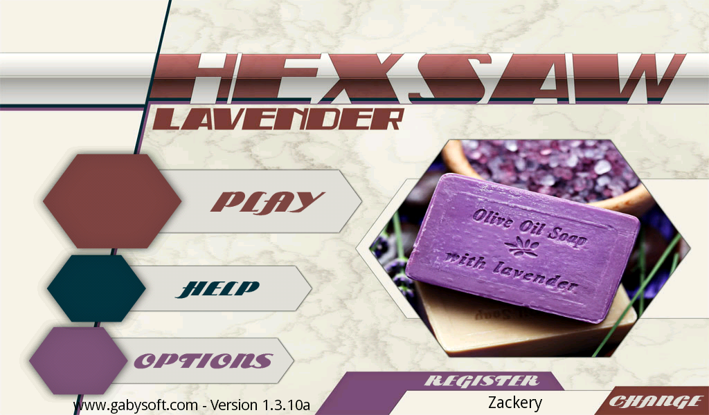 HexSaw - Lavender- screenshot