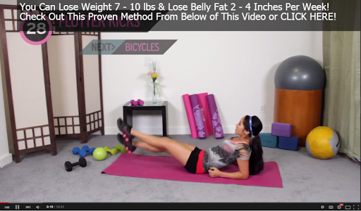 Burn Belly Fat Workout