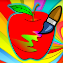 Coloring Fruits & Vegetables icon