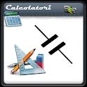 Calculator cod. capacitors icon
