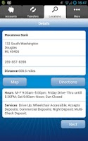 Screenshot of Macatawa Bank Mobile Banking