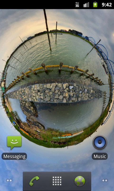 Panorama Live Wallpaper Screenshot