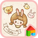 sally with friends dodol theme icon