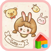 sally with friends dodol theme