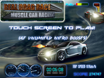 Real Drag Race Muscle car