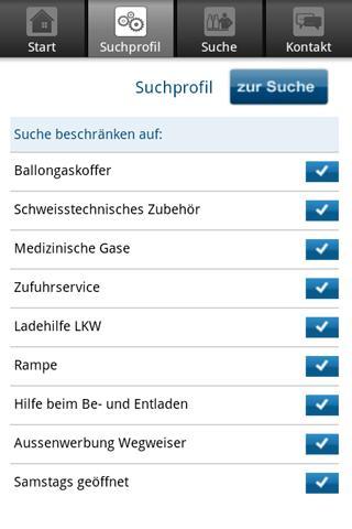 Linde - Vertriebspartnersuche - screenshot
