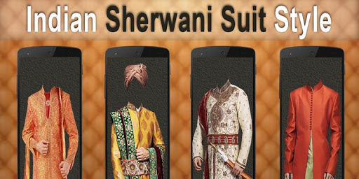 Sherwani Men Photo Montage