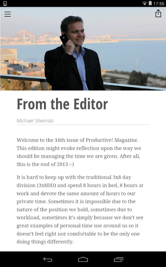 Productive! Magazine - screenshot