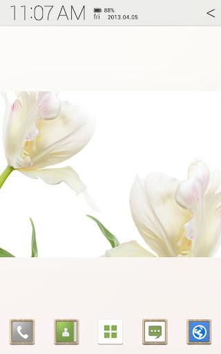 [Full HD] flower 아톰 테마