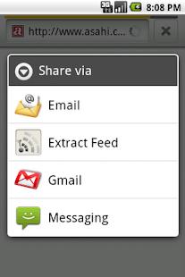 Extract Feed- screenshot thumbnail