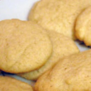 Egg Nog Sugar Cookies